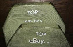 Small Rev G Esapi Body Armor Plates Devgru Socom Jasoc Special Forces Maga