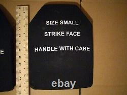 Small strike face 7.62mm m80 ball protection ballistic plates body armor