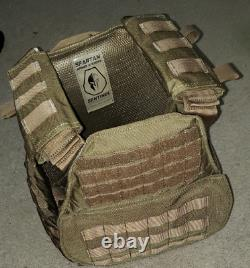 Spartan Armor System Plate Carrier and Level 3 Plates