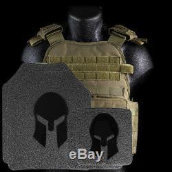 Spartan Armor/condor Mopc Plate Carrier And Spartan Omega Ar500 Body Armor Pla
