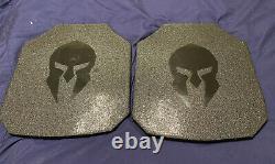 Spartan armor level 3+ ballistic body armor plates