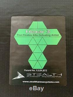 Stealth Armor Systems Hexar ALO SA Flex Panel SAPI Plate Medium