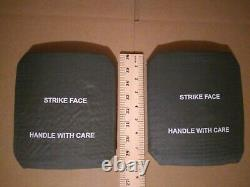 Strike face 7.62mm apm2 protection ballistic plates side body armor