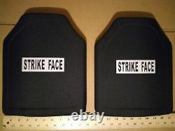 Strike face ballistic plates level 3 body armor 10x12
