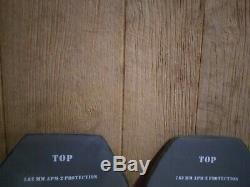 Strike face plates 7.62 apm2 protection XL