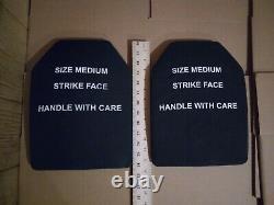 Strike face plates 7.62mm ball protection level 3 medium