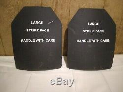 Strike face plates large 7.62 protection armor
