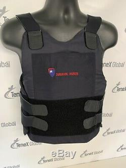 Survival Armor Level 3 Stab Resistant Body Armor Bullet Proof Vest With Plate B-4