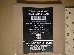 Tactical MSAP ballistic plates waterproof side body armor strike face