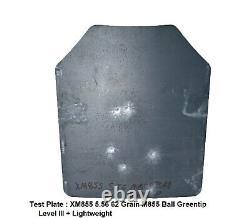 Tactical Scorpion 4Pc Level III+ / AR500 Body Armor Plates 11x14 Muircat Vest