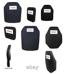 Tactical Scorpion Body Armor Plates Level III+ 3 PE Polyethylene Size Choice