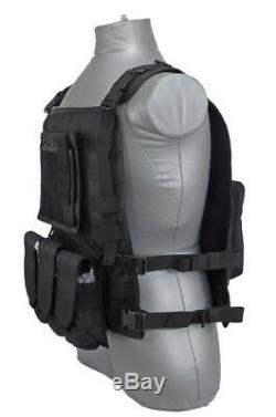 Tactical Scorpion Gear Level III+ / AR500 Body Armor Plates Wildcat Molle Vest