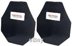 Tactical Scorpion Level III+ Body Armor 10x12 Modified Lighter Than AR500