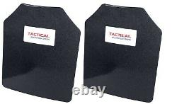 Tactical Scorpion Level III+ Body Armor Pair 10x12 Curved Lighter Than AR500
