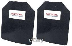 Tactical Scorpion Level III+ Body Armor Pair 8x10 Curved Lighter Than AR500