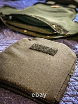 Tactical Vest / Carrier + Bulletproof Plates USA MADE 20 Year Warranty