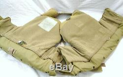 Tactical Vest With 2 Ballistic Armor Plates 7.62 Size X-Large Level III
