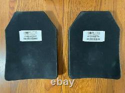 Two Sapi Plates Nij Certified Level Iv, Triple Curve, Stand Alone 26149 Hoplite