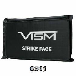 VEST PANEL VISM Ballistic Body Chest Side Armor Soft Plate Square BULLETPROOF