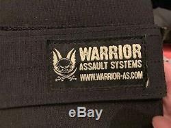 Warrior DCS Ballistic Plate Carrier With (4) AR500 Armor Plates Level III+
