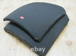 X-LARGE BODY ARMOR INSERTS LEVEL 3 CERAMIC STRIKE FACE PLATES 11x14 FRONT & BACK