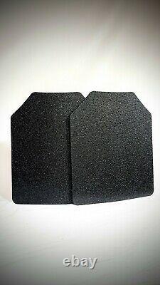10x12 Plaques Courbées-2 Plaques Inclus. En Acier Ar500