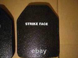 10x12 Strike Face Plaques Balistiques Tap Gamma Plus Niveau 3 Gilet Pare-balles