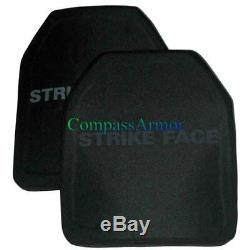 10x12inches Level III Sta Plaque De Blindage Dur Pe Et Alo Multi-curve Shape MC