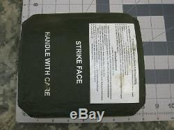 (2) Attaque Visage Corps Armor Secondaires Plaques Gauche Et Droite De Niveau III Ceramics 7 X 8