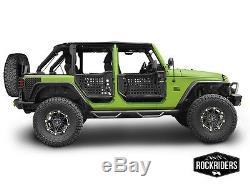 2007-2017 Jeep Wrangler Unlimited Body Armor Portes Avant Et Arrière Du Sentier Gen III Trail