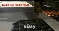 4 Pc Niveau III Armure Ar500 Acier Deux 10 X 12+ Deux 6 X 8 Plaques -plein Frag Coated