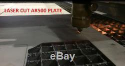 4 Pièces Armure En Acier Ar500 Two De Niveau Iii, 10 X 12+ Deux, 6 X 8 Assiettes Envoi Rapide