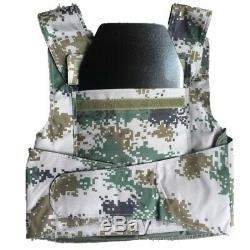 6.5mm IV Stand Alone Police Body Armor Pad Insert En Acier Pare-balles Panneaux De Plaque