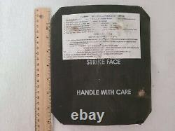 7.62mm Apm2 Protection Plaques Balistiques Side Body Armor Strike Face