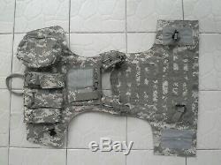 Acu De Pare-balles Tactique Gilet Iiia + 2pcs III Plaques En Céramique (autonome) Taillem