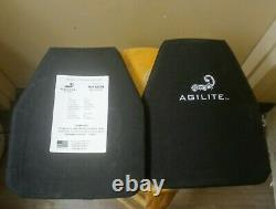 Agilite Level 3 Stand Alone Plate Body Armor Plate -10 X 12 -5.4 Livres