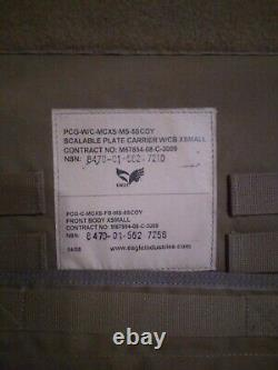 Aigle Porte-plaque Extensible Avec Des Plaques X-small