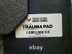 Ar500 Armure Niveau Iii+ Ensemble Complet 10x12 Et 6x8 Plaques Avec Camouflage Et Tampons Trauma