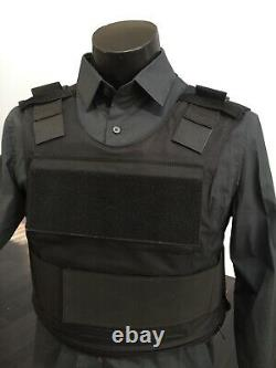 Ar500 Bulletproof Vest Carrier Body Armor Level LLL 3 Free Soft Plates USA Made