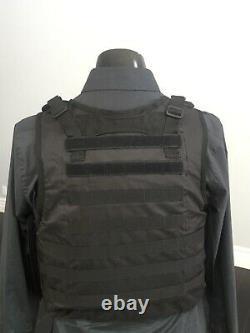 Ar500 Dur Plate Niveau 3 Gilet Menace Armure Tactique Porteur Du Corps Bulletproof LLL