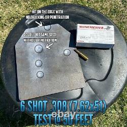 Ar500 Niveau 3 III Body Armor Plates- 10x12 Avec Veste Molle Avec Pouch Triple Mag