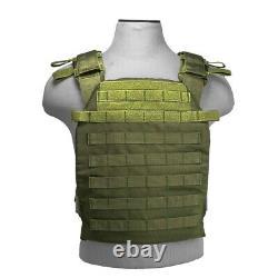 Ar500 Niveau 3 III Plaques D'armure Du Corps- 11x14 Avec Porte-veste De Molle
