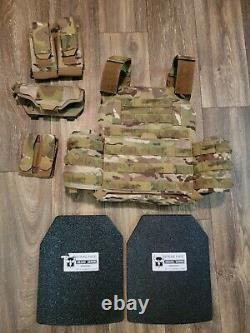 Ar500 Porte Plaque Testudo / Armure