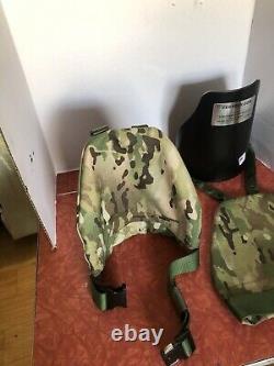 Armor Épaules Ar500 Niveau LLL Rifle Grade Free Shipping USA Made Multi Cam
