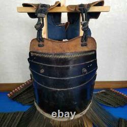 Armure Antique Japonaise Samouraï Edo Era Corps Trois Pièces Utilisé