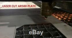 Armure De Protection En Acier Ar500, Niveau Iii, Revêtement Frag De 10 Plaques, 12