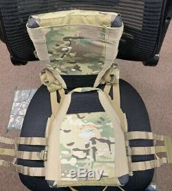 Armure Hesco 3610 Medium Nageurs Plate Cut Level 3+ III + Crye Jpc 2.0 Lumière