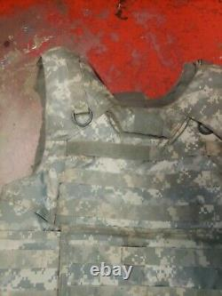 Army Acu Digital Bod Armor Plate Transporteur Made Withkevlar Inserts Large