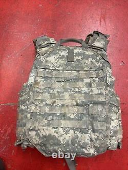 Army Acu Digital Bod Armor Plate Transporteur Made Withkevlar Inserts Moyen Lot 2