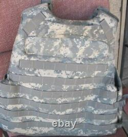 Army Acu Digital Bod Armor Plate Transriger Avec Des Inserts Moyennes